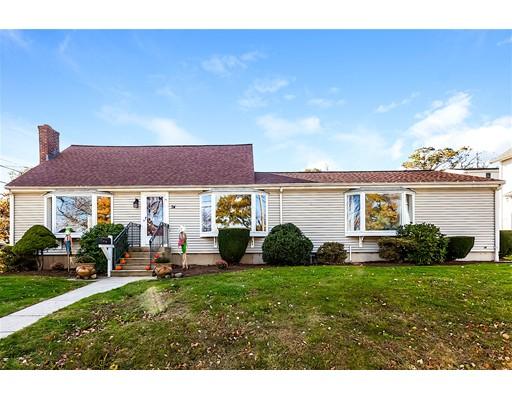 Частный односемейный дом для того Продажа на 74 Vinedale Road 74 Vinedale Road Braintree, Массачусетс 02184 Соединенные Штаты