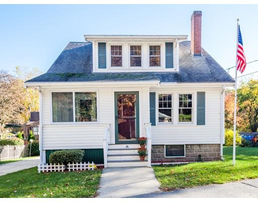 Частный односемейный дом для того Продажа на 26 Greenwood Street 26 Greenwood Street Wakefield, Массачусетс 01880 Соединенные Штаты