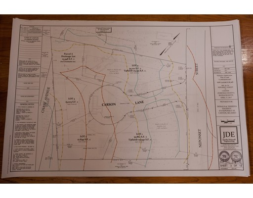Land for Sale at 468 Neponset Street Canton, Massachusetts 02021 United States