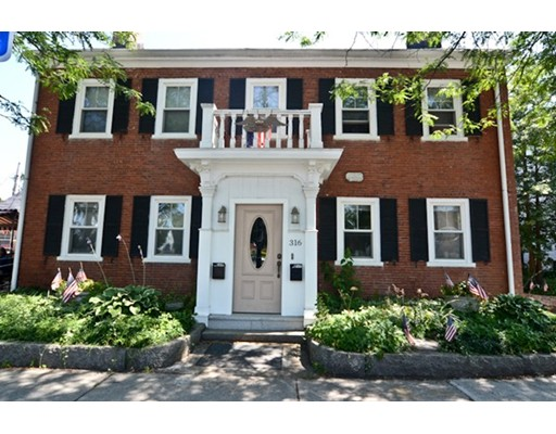 Townhouse for Rent at 316 Main Street #2 316 Main Street #2 Wakefield, Massachusetts 01880 United States