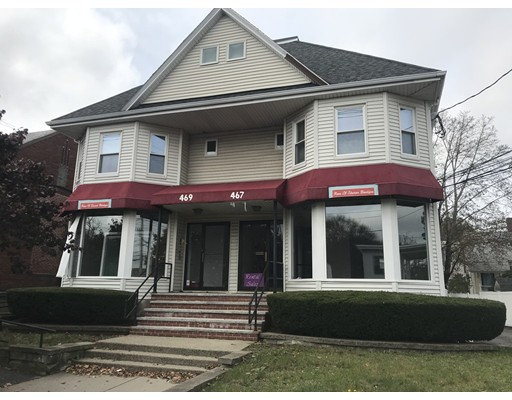 Commercial for Rent at 467 Main Street 467 Main Street Stoneham, Massachusetts 02180 United States