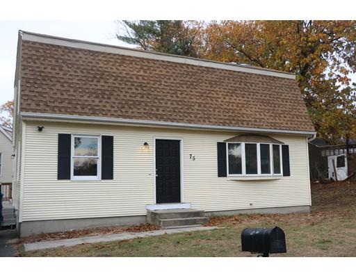 واحد منزل الأسرة للـ Rent في 75 Pocantico Avenue 75 Pocantico Avenue Springfield, Massachusetts 01119 United States