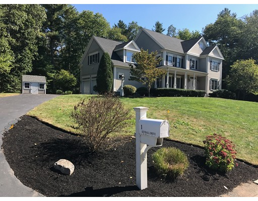 Single Family Home for Sale at 1 Kendall Drive 1 Kendall Drive Foxboro, Massachusetts 02035 United States