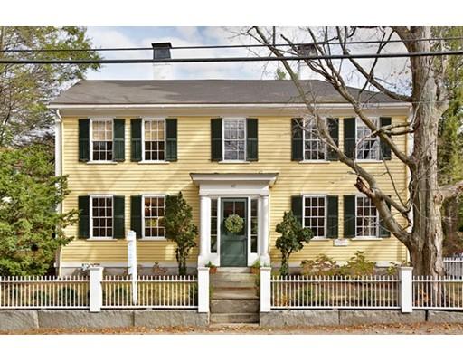 Maison unifamiliale pour l Vente à 40 Lowell Road 40 Lowell Road Concord, Massachusetts 01742 États-Unis