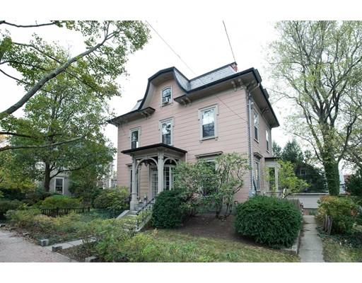 Single Family Home for Sale at 6 Maple Avenue 6 Maple Avenue Cambridge, Massachusetts 02139 United States