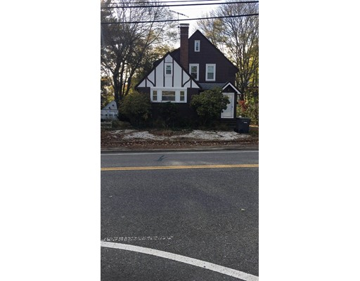 Recent remodeled Tudor style. All rooms featured with LED lights, new windows, kitchen cabinets, newly painted. Three-season porch with ceramic tile and full view of nice backyard. First floor has extra study room with ceiling fan, plenty of storage within the front entrance. Second floor has three good size bedrooms and a full bathroom, extra large storage space. 10mins walk to commuter rail. Closing to all shopping places.