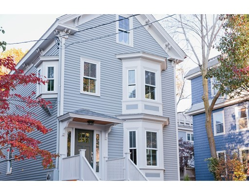 Condominium for Sale at 11 Flagg Street 11 Flagg Street Cambridge, Massachusetts 02138 United States