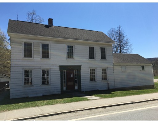 Single Family Home for Sale at 98 Main Street 98 Main Street Charlemont, Massachusetts 01339 United States