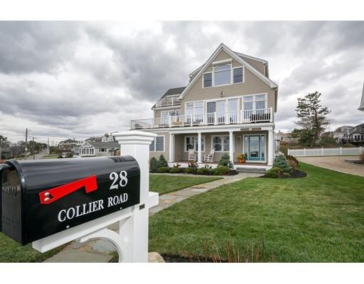 Casa para uma família para Venda às 28 Collier Road 28 Collier Road Scituate, Massachusetts 02066 Estados Unidos