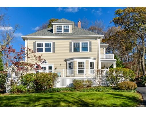 Частный односемейный дом для того Продажа на 4 Fairview Ter 4 Fairview Ter Winchester, Массачусетс 01890 Соединенные Штаты