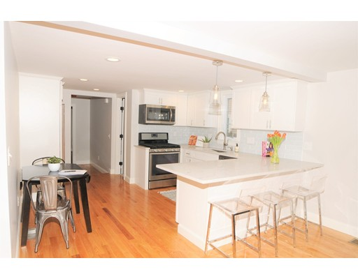 Picture 1 of 308 Hunnewell Unit 1 Needham Ma  3 Bedroom Single Family#