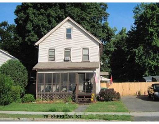 Single Family Home for Sale at 75 Sheridan Street Chicopee, 01020 United States