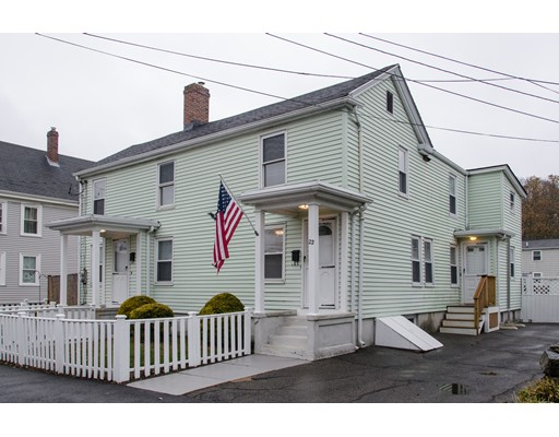 Multi-Family Home for Sale at 22 CHARNOCK STREET 22 CHARNOCK STREET Beverly, Massachusetts 01915 United States