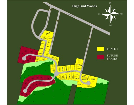 土地,用地 为 销售 在 34 Highcrest Road Fall River, 马萨诸塞州 02720 美国