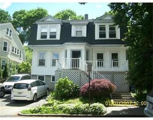 Appartement pour l à louer à 11 Ricker Terrace #1 11 Ricker Terrace #1 Newton, Massachusetts 02458 États-Unis