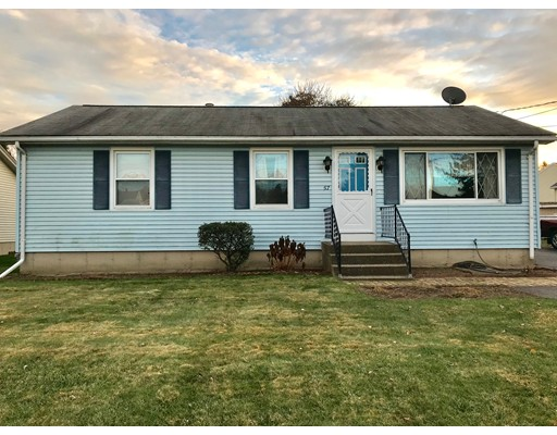 Single Family Home for Sale at 57 Shaw Park Avenue 57 Shaw Park Avenue Chicopee, Massachusetts 01013 United States