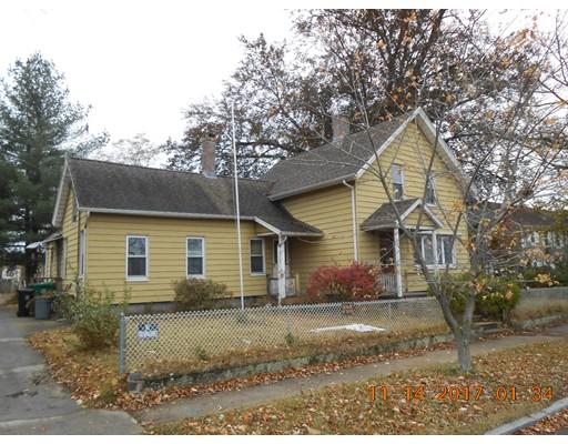 Single Family Home for Sale at 64 East Street 64 East Street Chicopee, Massachusetts 01020 United States