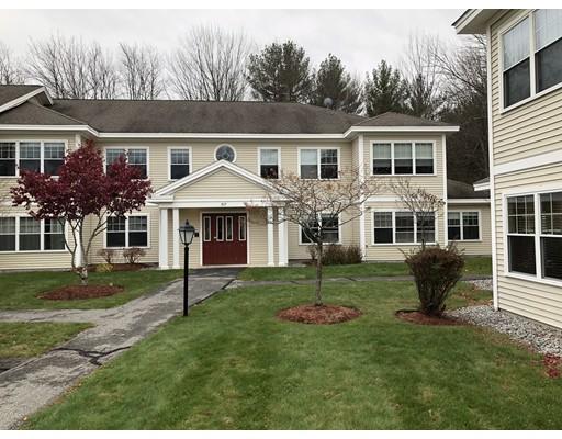 Condominio por un Alquiler en 517 Main St #C 517 Main St #C Groton, Massachusetts 01450 Estados Unidos