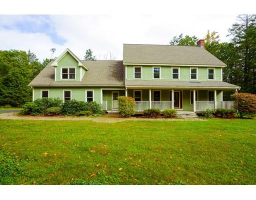 Частный односемейный дом для того Продажа на 119 Sterling Road 119 Sterling Road Princeton, Массачусетс 01541 Соединенные Штаты