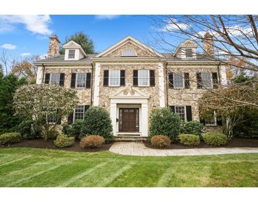 Casa Unifamiliar por un Venta en 194 Bristol Road 194 Bristol Road Wellesley, Massachusetts 02481 Estados Unidos