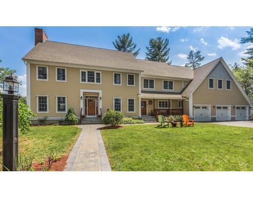 Maison unifamiliale pour l Vente à 8 Reiling Pond Road 8 Reiling Pond Road Lincoln, Massachusetts 01773 États-Unis