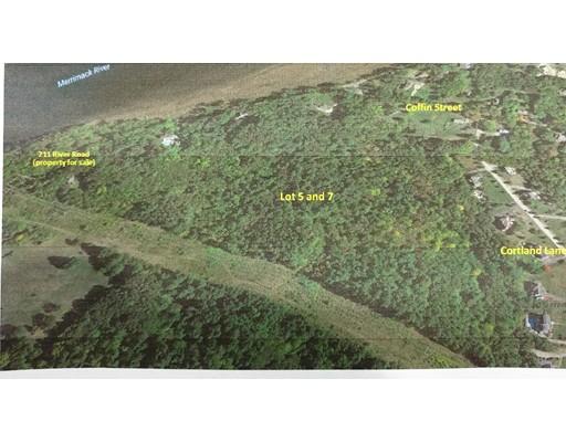 Terrain pour l Vente à 211 River Road 211 River Road West Newbury, Massachusetts 01985 États-Unis