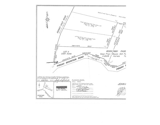 Land for Sale at Pisgah Mountain Road Pisgah Mountain Road Gill, Massachusetts 01354 United States