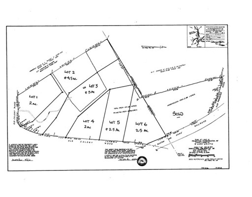 Land for Sale at 5 Old Colony Road 5 Old Colony Road Princeton, Massachusetts 01541 United States