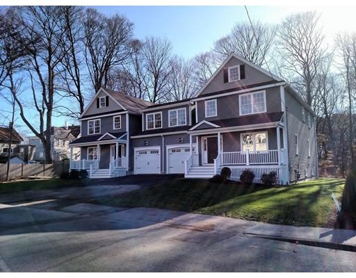 Appartement en copropriété pour l Vente à 4 FISHER Street #4 4 FISHER Street #4 Natick, Massachusetts 01760 États-Unis