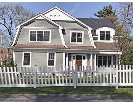 Casa Unifamiliar por un Venta en 90 Dover Road 90 Dover Road Wellesley, Massachusetts 02482 Estados Unidos