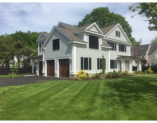 Частный односемейный дом для того Продажа на 1 Harrington Road 1 Harrington Road Winchester, Массачусетс 01890 Соединенные Штаты