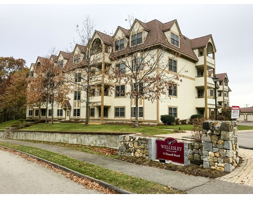 Condominium for Sale at 12 Russell Road 12 Russell Road Wellesley, Massachusetts 02482 United States