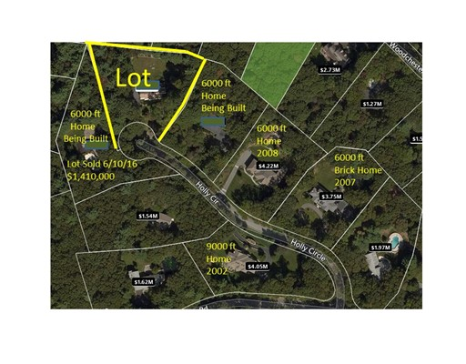 Land for Sale at 31 Holly Circle 31 Holly Circle Weston, Massachusetts 02493 United States