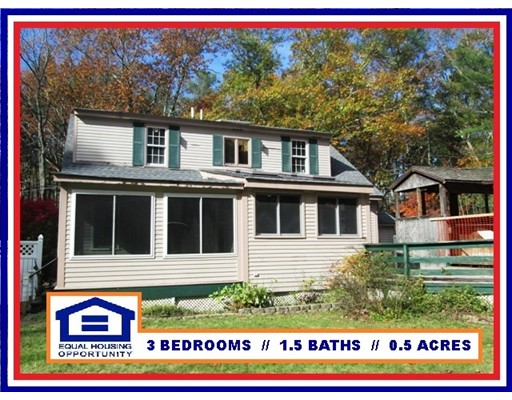 Casa Unifamiliar por un Venta en 769 NORTH BROOKFIELD ROAD 769 NORTH BROOKFIELD ROAD Oakham, Massachusetts 01068 Estados Unidos