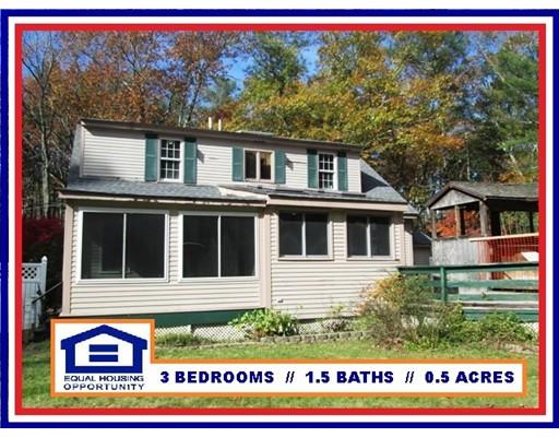 واحد منزل الأسرة للـ Sale في 769 NORTH BROOKFIELD ROAD 769 NORTH BROOKFIELD ROAD Oakham, Massachusetts 01068 United States