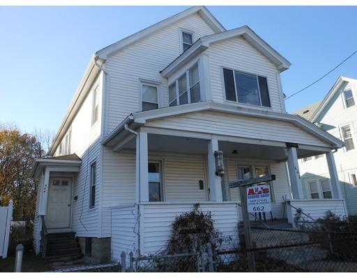 Casa Multifamiliar por un Venta en 662 Dickinson Street Springfield, Massachusetts 01108 Estados Unidos