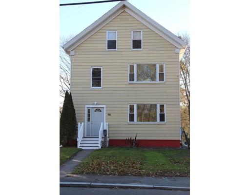 Частный односемейный дом для того Аренда на 72 Freeman Street 72 Freeman Street North Attleboro, Массачусетс 02763 Соединенные Штаты