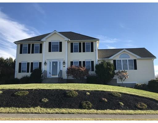 واحد منزل الأسرة للـ Sale في 26 KALLOCH Drive 26 KALLOCH Drive Rutland, Massachusetts 01543 United States