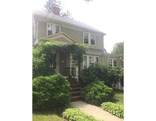 Single Family Home for Rent at 147 Park Ave. #1 147 Park Ave. #1 Arlington, Massachusetts 02476 United States