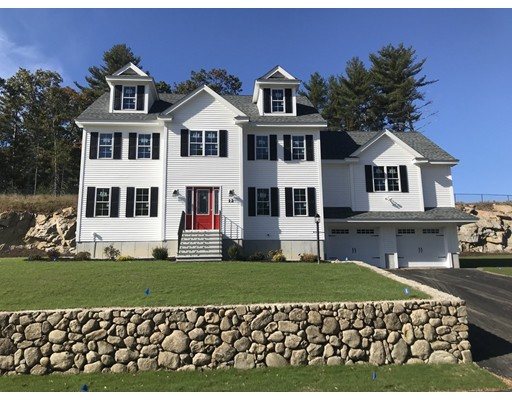 Single Family Home for Sale at 12 FIELDSTONE LANE 12 FIELDSTONE LANE Billerica, Massachusetts 01821 United States