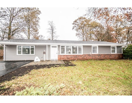 Single Family Home for Sale at 27 Dodge Road 27 Dodge Road Brockton, Massachusetts 02302 United States