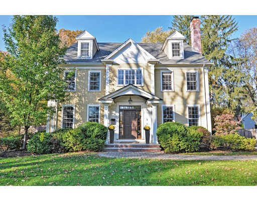 Single Family Home for Sale at 9 Mayo Road 9 Mayo Road Wellesley, Massachusetts 02482 United States