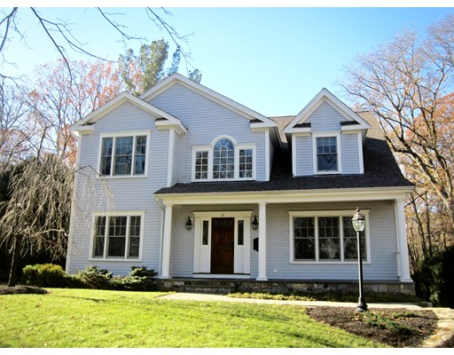 Single Family Home for Sale at 19 Madison Road 19 Madison Road Wellesley, Massachusetts 02481 United States