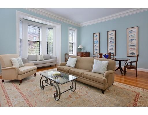 Частный односемейный дом для того Аренда на 65 Marlborough Street 65 Marlborough Street Boston, Массачусетс 02116 Соединенные Штаты