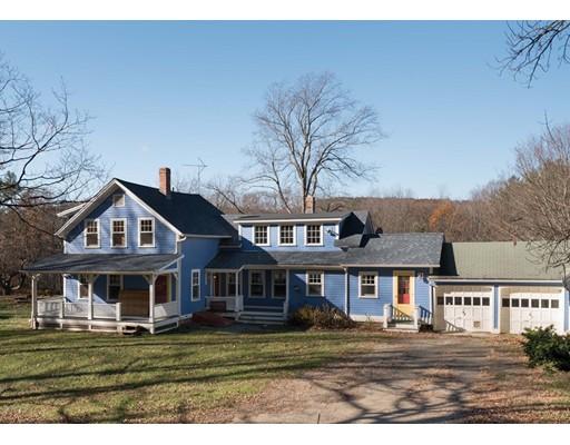 Casa Unifamiliar por un Venta en 1230 Main Poland Road 1230 Main Poland Road Conway, Massachusetts 01341 Estados Unidos
