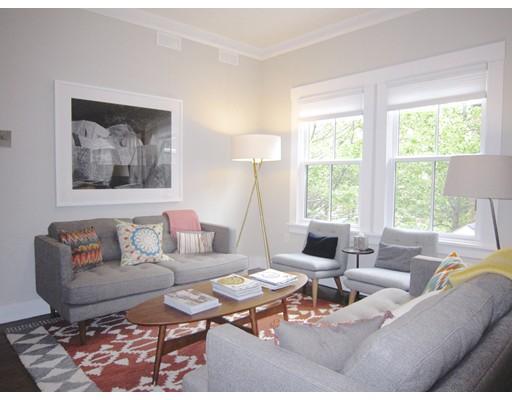 Квартира для того Аренда на 25 Grant #2 25 Grant #2 Cambridge, Массачусетс 02138 Соединенные Штаты