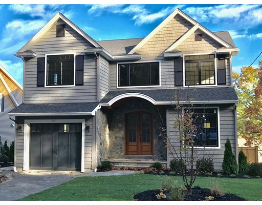 Maison unifamiliale pour l Vente à 317 PROSPECT HILL ROAD 317 PROSPECT HILL ROAD Waltham, Massachusetts 02451 États-Unis