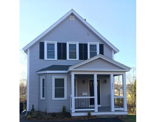 Maison unifamiliale pour l Vente à 481 East Street 481 East Street Dedham, Massachusetts 02026 États-Unis