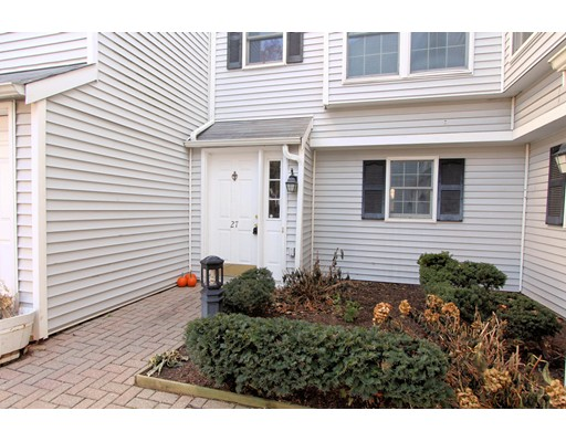 Opportunity Strikes at Granite Ledge! Bring your Vision and do some updating to this sunny, west facing 3 bed, 1.5 bath, 3 level townhouse conveniently located near to Quincy Center! Over 1500sf with lots of great space to stretch out in. Open layout on 2nd floor living and dining room with access to wrap around deck in back from living room and kitchen. Half bath on 2nd floor as well. Family room on walk-out first floor has washer/dryer plus 3rd bedroom with wall of closets. Third floor has HUGE master bedroom with walk-in closet and wall of closets plus smaller 2nd bedroom and full bath. Great storage throughout! Wall A/C. Two off-street parking spaces assigned to this condo plus 4 guest parking spaces. Condo association is very stable with very high owner occupancy, solid reserves and no pending assessments. 1 pet per condo allowed under 30lbs, additional pets with trustee permission.  Check out the 3d Virtual Tour too!