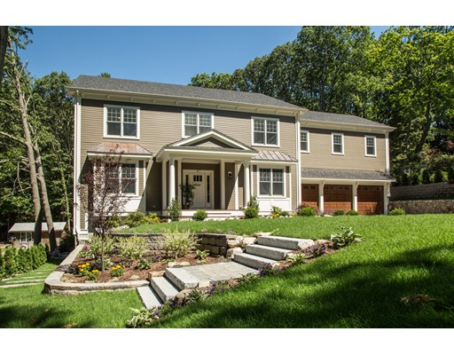 独户住宅 为 销售 在 47 Goddard Street 47 Goddard Street 牛顿, 马萨诸塞州 02461 美国